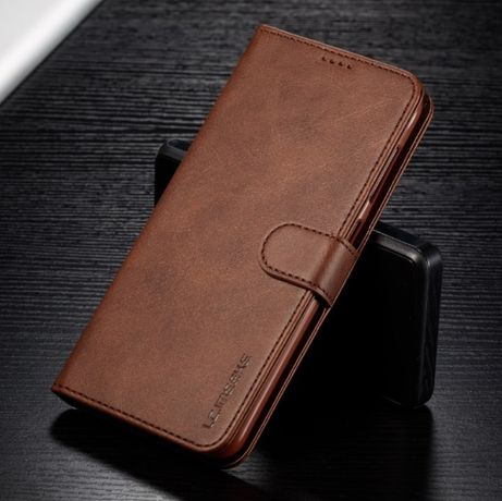Кожаный чехол книжка на для samsung S7 Edge / S8 S8 Plus / S9 S9 Plus