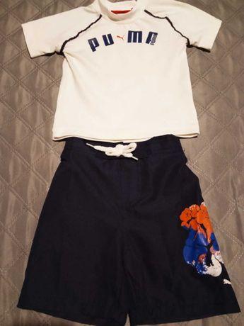 Koszulka Puma plus spodenki