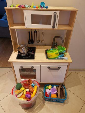 Kuchnia dla dzieci Ikea dużo dodatków