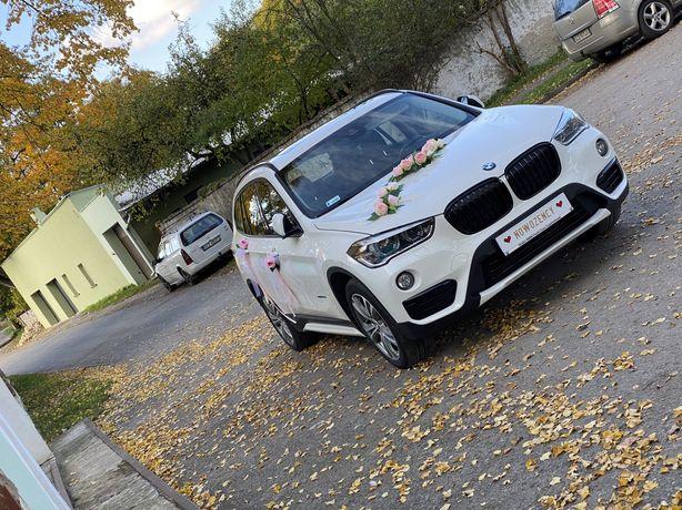 Wynajem auta do ślubu BMW x1 m pakiet, vip