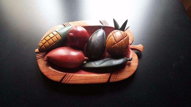 Fruteira em madeira