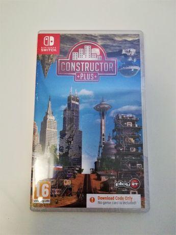Jogo Constructor Plus Nintendo Switch Novo Selado