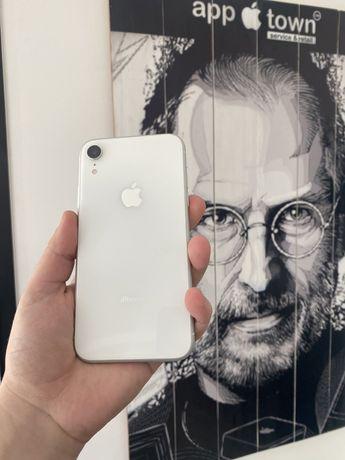 Iphone XR 64gb White Гарантия/NEVERLOCK/Магазин/Идеал