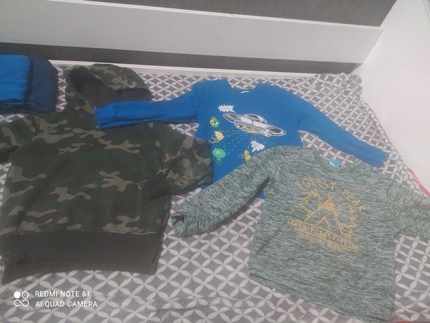 Bluzy dla chłopca 116/122