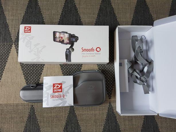 NOWY gimbal Zhiyun Smooth Q smartfon telefon kamerka GoPro DIJ