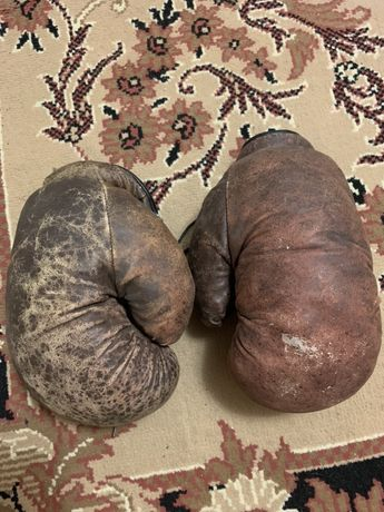 Боксерские перчатки СССР 1980 г