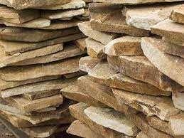 Песчаник, натуральный камень - брекчия, резаный. Распродаю