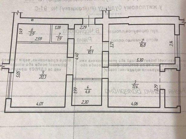 - 2 кімнатна квартира на Щасливому під дизайнерський ремонт
