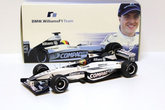 1/18 williams f1 bmw fw22 ralf schumacher 2000 (bmw ag / minichamps)