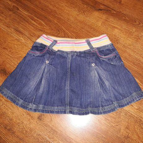 Юбки джинсовые  на девочку 2- 3 года