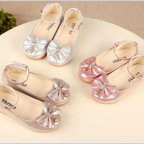 Туфли на девочку, детские туфельки, туфлі на дівчинку, рр.21-36 он