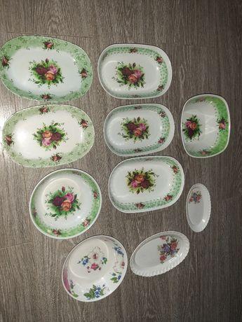 набор тарелок пластмасса 10шт