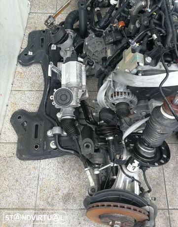 Mecânica de roda direita, manga de eixo, amortecedor, braço, transmissão , caixa de direcção assistida eléctrica, Alfa Romeo Giulietta de 2012 1.6 MJET