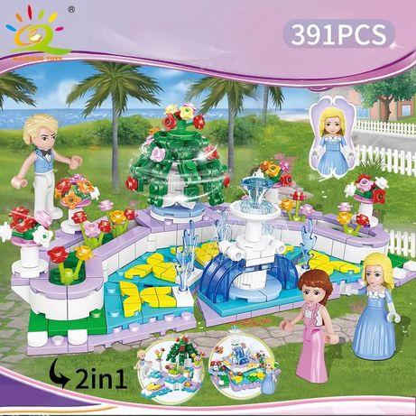 Детская Игрушка! Lego конструктор для девочек «Принцесса» 391 деталей