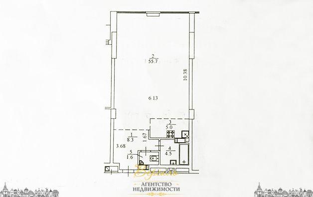 Продается 1 комнатная квартира проспект Победы, ЖК Берестейский
