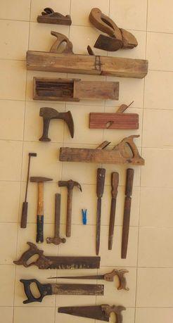 Equipamento de carpintaria (Velharias)
