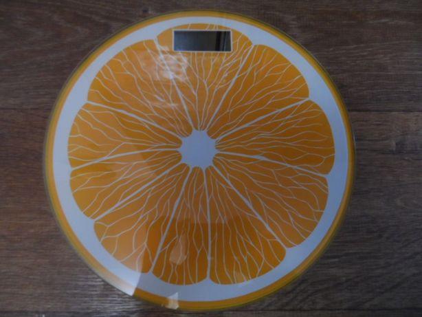 Весы напольные стеклянные Апельсин, Арбуз, Лайм