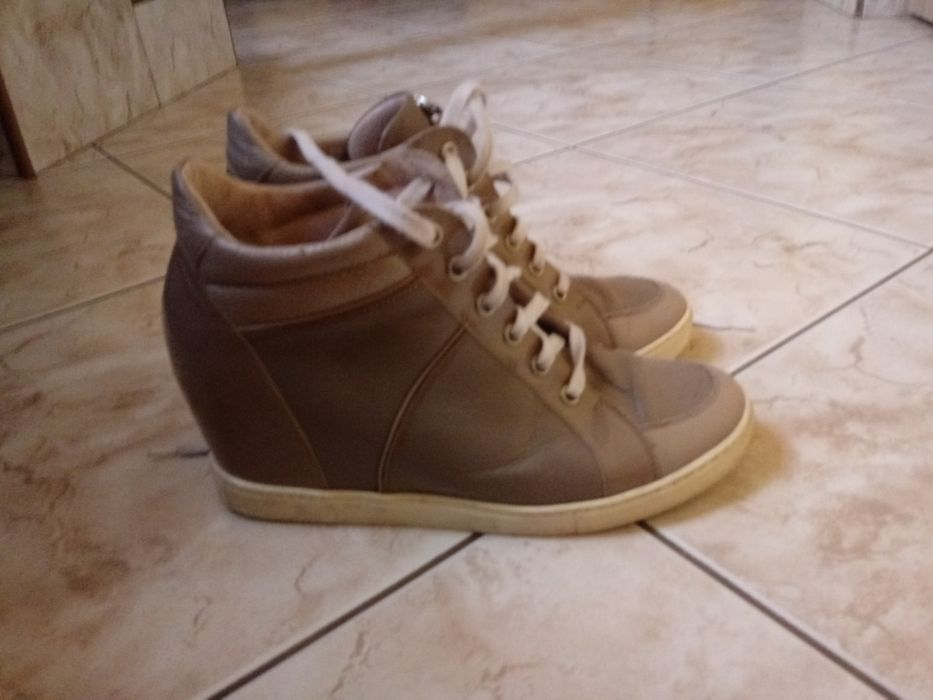 Sneakersy trampki na koturnie gino rossi Radom - image 1