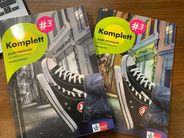 Komplett 3 język niemiecki - podręcznik+ćwiczenia