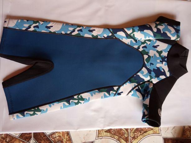 Гидрокостюм неопрен wipe out 7-9 лет  купальный для плаванья детск