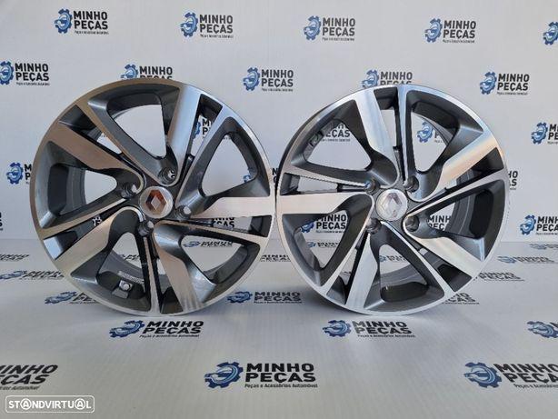 """Jantes Renault Clio em 15"""" GunMetal"""
