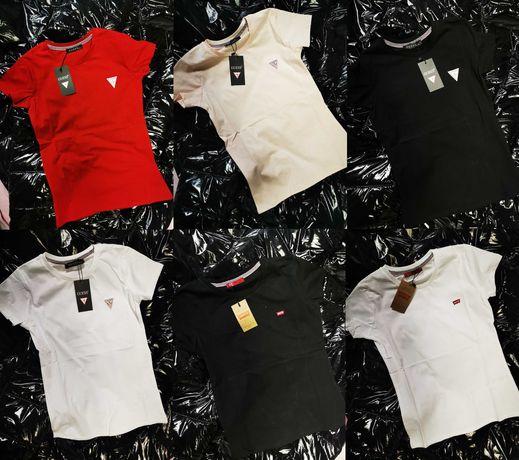 Koszulka damska Guess Levis bluzki koszulki nowość hit
