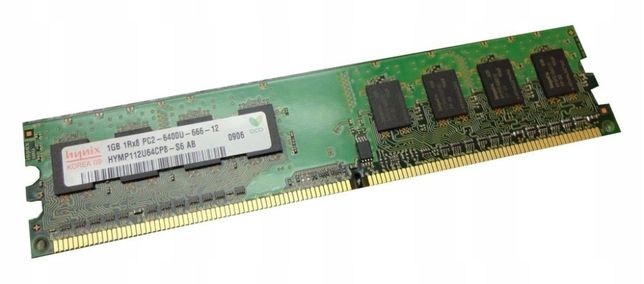 Оперативная память Hynix 1Gb ddr 2(2шт)