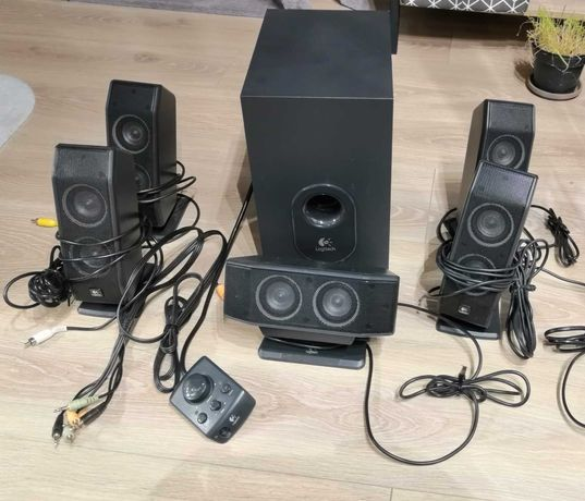 Głośniki 5.1 Logitech X-540 stan idealny