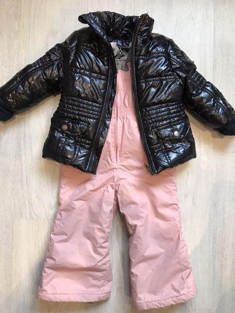 Зимний костюм, комбинезон, курточка