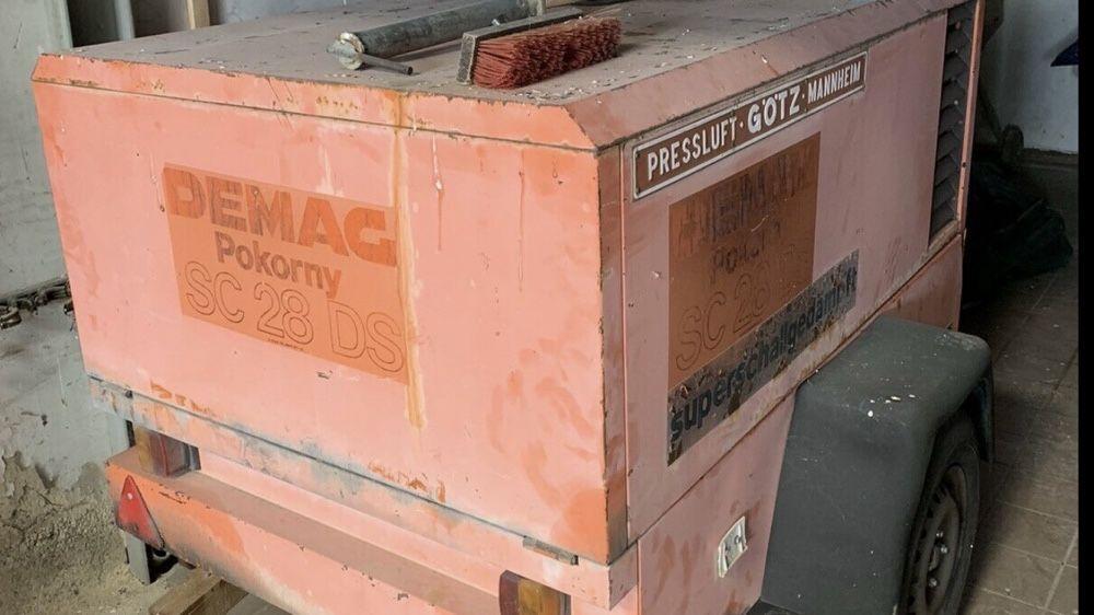 Sprężarka śrubowa Demag SC28DG Skwierzyna - image 1
