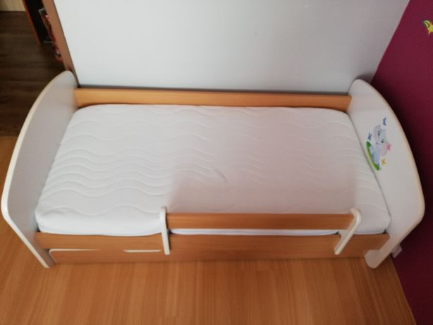 Łóżko dziecięce młodzieżowe z szufladą