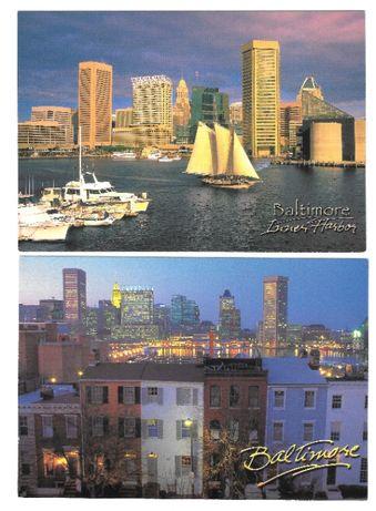 pocztówki Baltimore USA