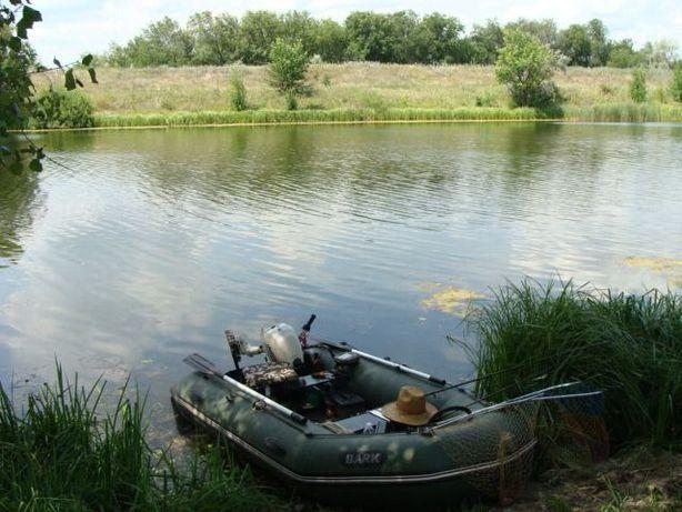 Надувная лодка bark + лодочный мотор Johnson