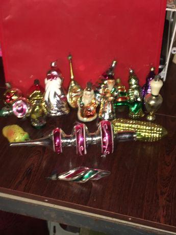 Коликцыоные Новогодние игрушки РСРС