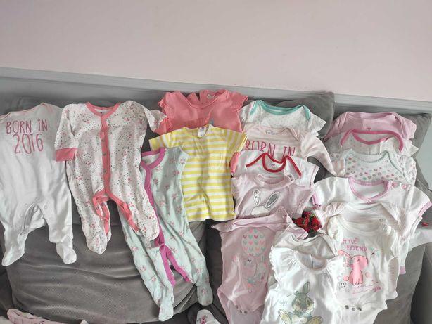 Paka ubrań dla dziewczynki 56-62
