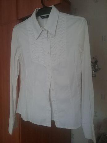 Белая блузка для старшеклассницы МЄЄS, разм. S-M