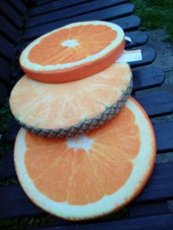 Poduszki plasterki owoce