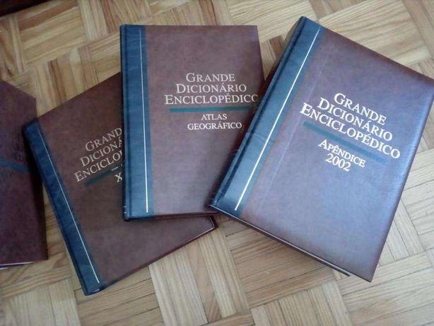 Enciclopédia Universal ( dicionário, atlas geográfico, em estado novo)