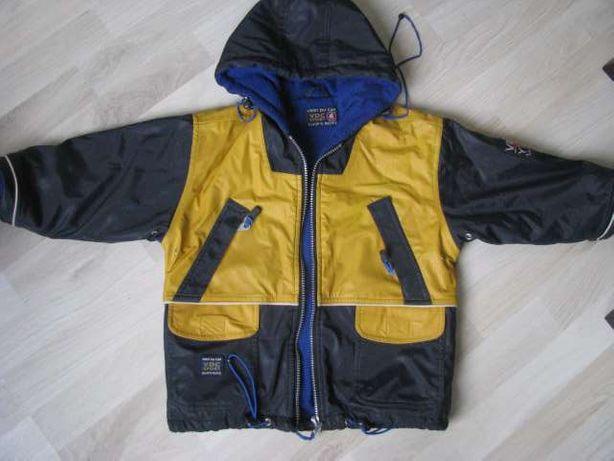 Cool Club kurtka zimowa wodoodporna ocieplana polarem 110cm-116cm 4-6l