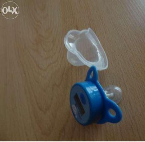 Termómetro para bébé em forma de chupeta (NOVO).