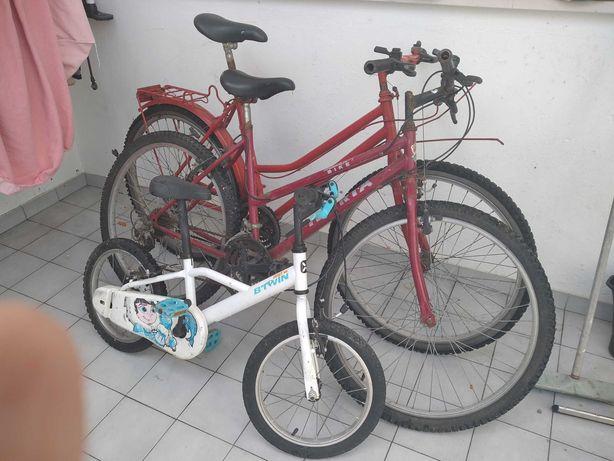 Bicicleta ( As 3 por 90 euros)