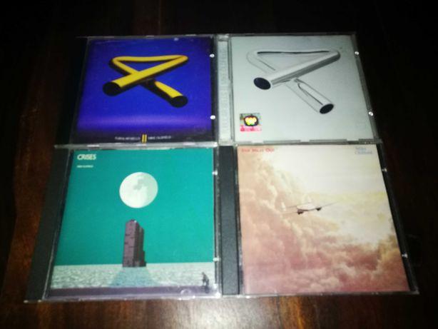 Mike Oldfield - (Pack 4 CD's como novos - vende-se separadamente)
