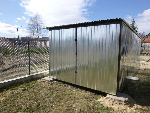 Garaż blaszany OCYNK blaszak budowa Garaże 3x5 na BUDOWĘ producent !!!