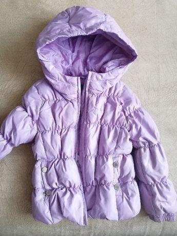 Продам курточку Benetton для девочки