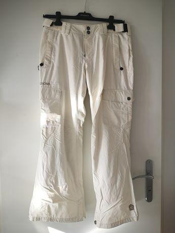 Sessions spodnie narciarskie rozmiar M kolor kremowy