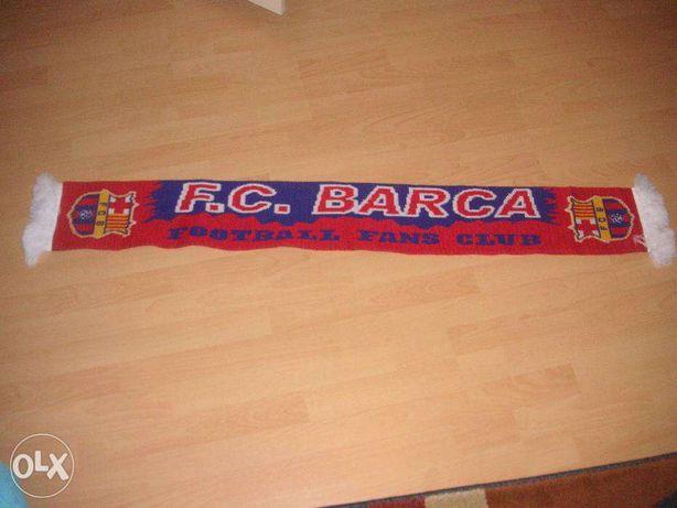 Oryginalny szalik dla prawdziwego fana - FC BARCELONA!