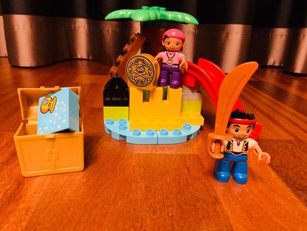 Lego duplo 10604 Jake i piraci z Nibylandii - Wyspa skarbów