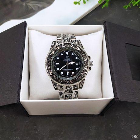 Rolex Submariner с гравировками. Наручные мужские-женские часы ролекс