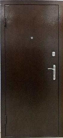 Уличная металлическая дверь метал-МДФ - модель Антик Elegant (Украина)