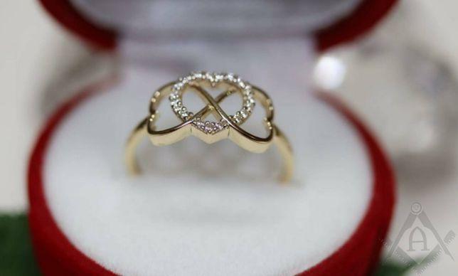 Złoty pierścionek Jubiler Agapol